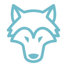 wolf-teal
